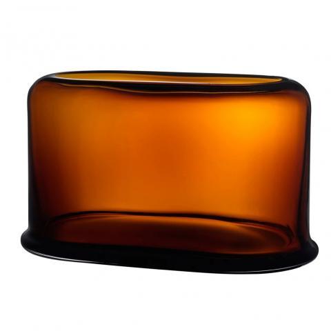 Nude Layers Vaas Breed. 39.5x23cm amber geel