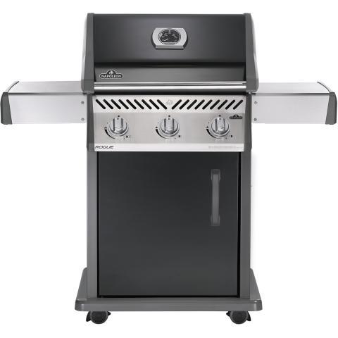 Napoleon Rogue R2 Gasbarbecue. Zwart