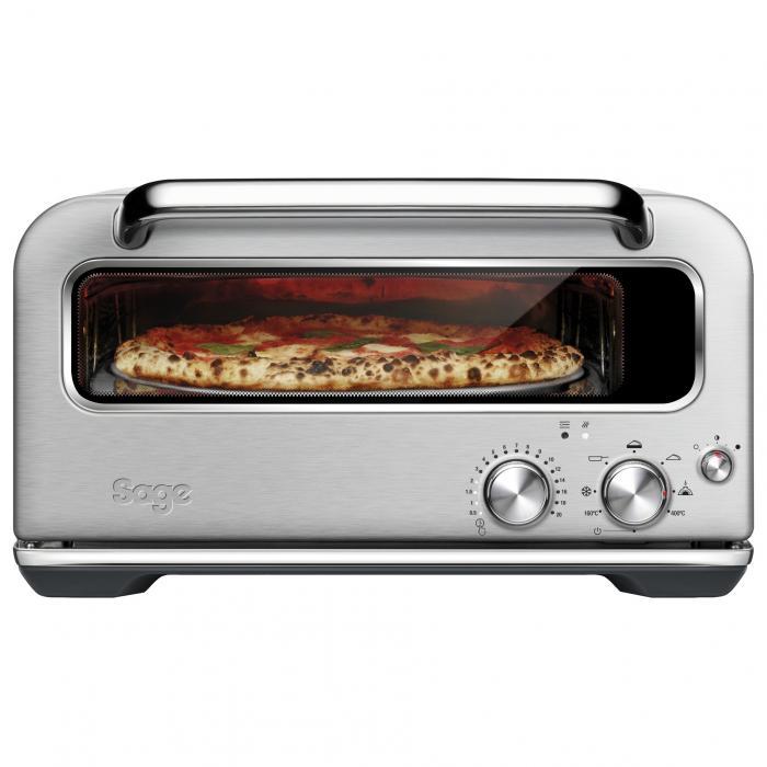 Sage The Smart Oven Pizzaiolo Pizza-oven, RVS