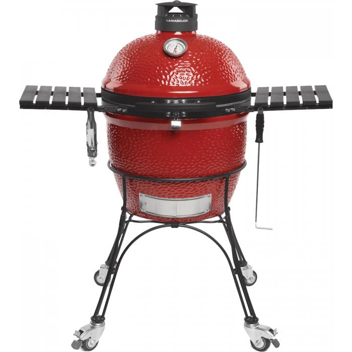 Kamado Joe Classic II Houtskoolbarbecue met Onderstel en Zijtafels