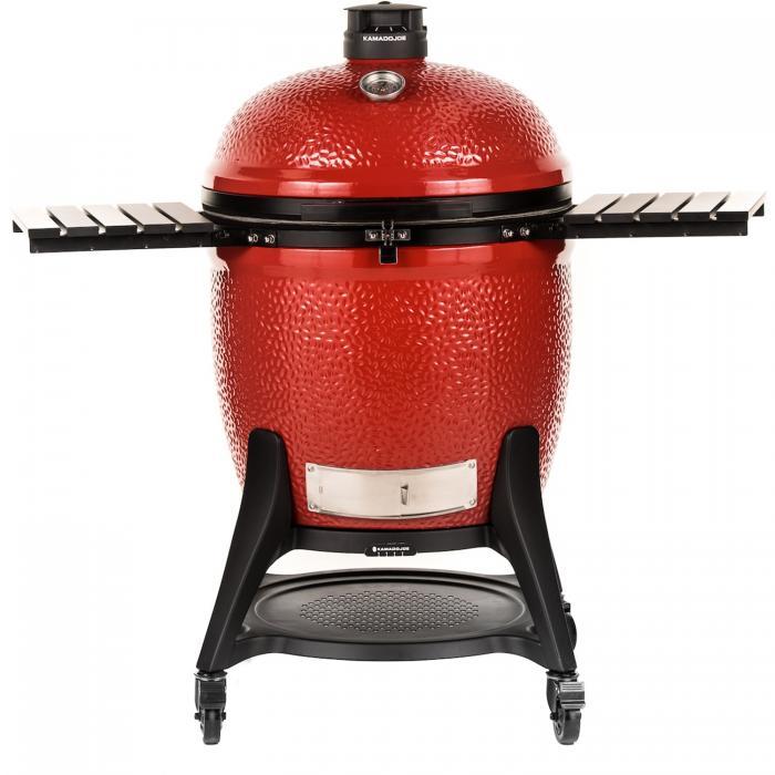 Kamado Joe Big Joe III Houtskoolbarbecue met Onderstel en Zijtafels