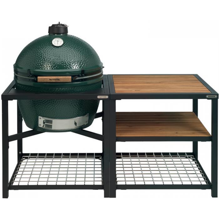 Big Green Egg XLarge Houtskoolbarbecue met Modular Nest System Compleet Acaciahout