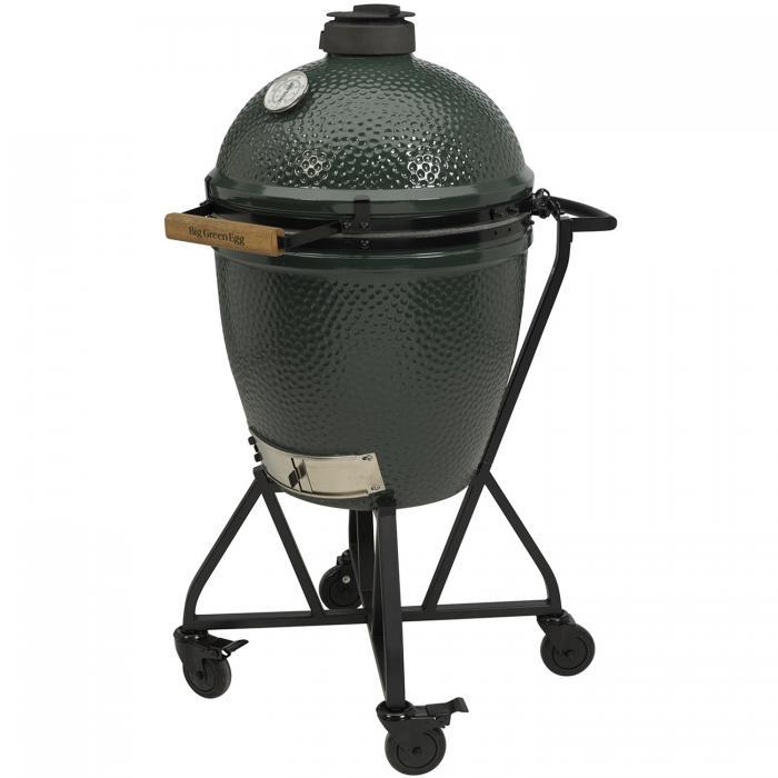 Big Green Egg Large Houtskoolbarbecue met IntEGGrated Nest en Handler