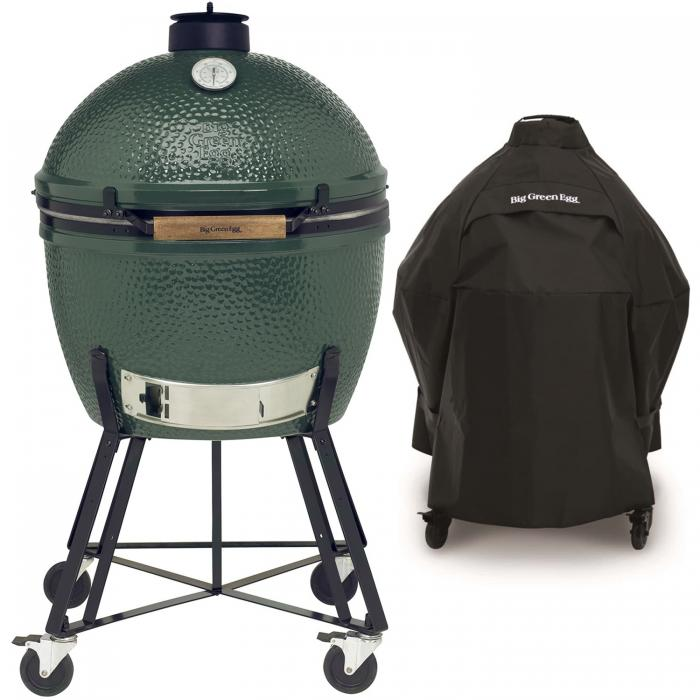 Big Green Egg XLarge Houtskoolbarbecue met Nest en Hoes